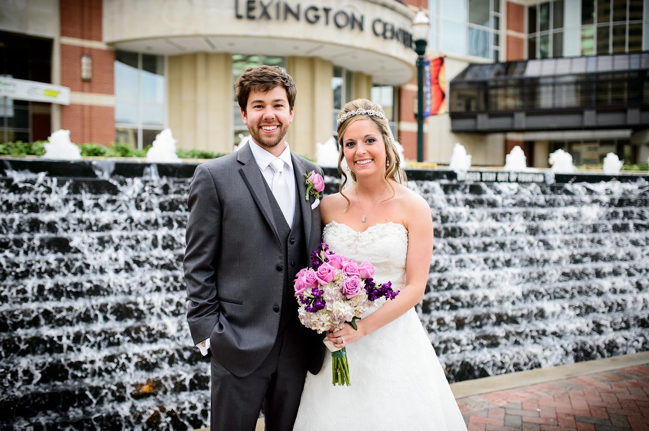 Lexington ky park wedding